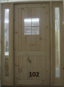 4 lite door with sidelights