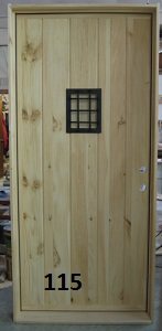textured stockade door