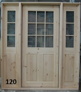 9 lite door with sidelights