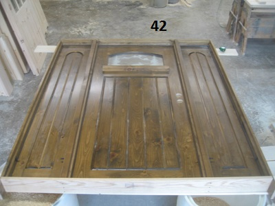 Sidelight exterior door