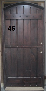 eyebrow arch exterior door