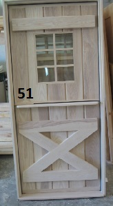 Ash dutch door