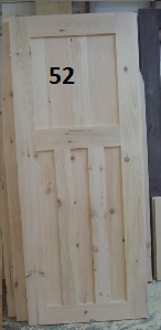 Custom craftsman door