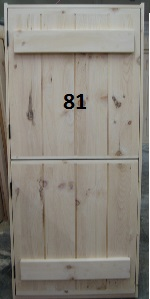 Stockade dutch door