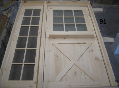 exterior door with sidelight