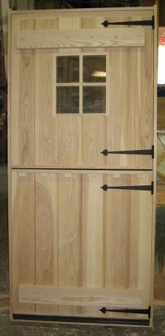 Rustic dutch door