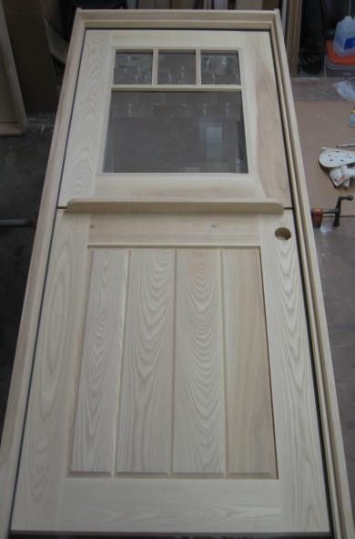Exterior dutch door