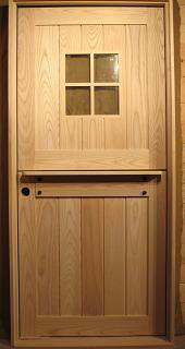 hardwood dutch door